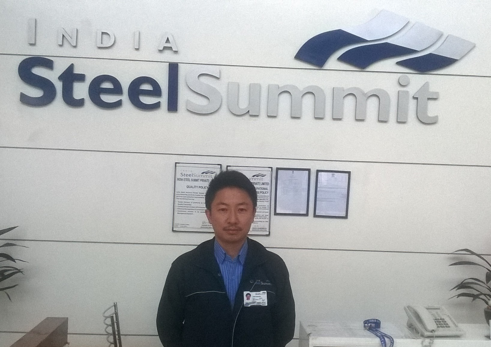 Welcome to India Steel Summit Private Limited (ISS)
